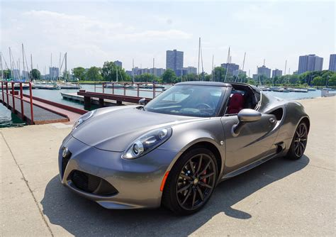 Alfa Romeo Spider Review by Alfa Romeo 4c Spider Review A Tiny 95 Octane