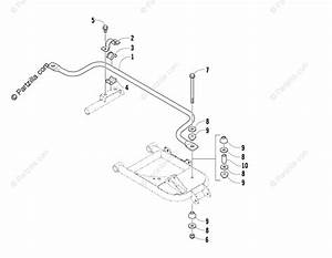 Arctic Cat Side By Side 2008 Oem Parts Diagram For Sway Bar Assembly