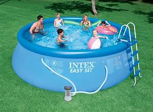 Easy Set Pool : intex 15 x 48 easy set above ground swimming pool w 1000 gph gfci pump 28167eh ebay ~ Orissabook.com Haus und Dekorationen