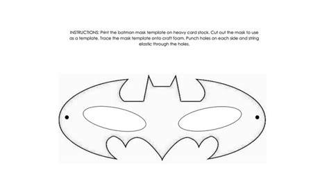 batman mask templatepdf superhero pinterest   ideas  batman mask template