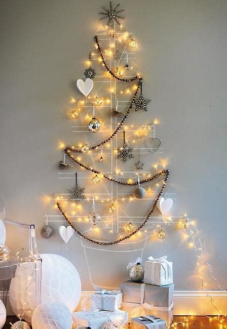 wall christmas tree ideas 40 diy alternative christmas trees adding fun wall decorations to green holiday decor