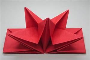 Serviette De Noel En Papier : serviette papier prepliee pliage etoile rouge etui de 12 ~ Teatrodelosmanantiales.com Idées de Décoration