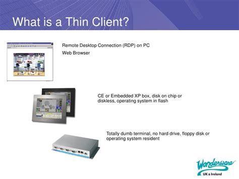 thin clients webex