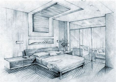 """""""interior Sketch Picture On The"""