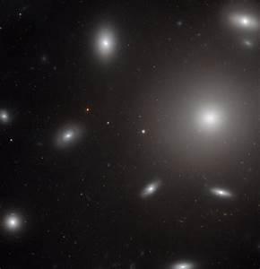 Hubble Space Telescope Views Elliptical Galaxy NGC 4874