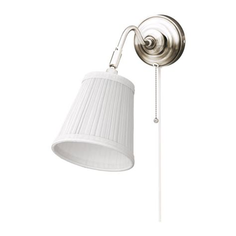 197 rstid wall l nickel plated white ikea