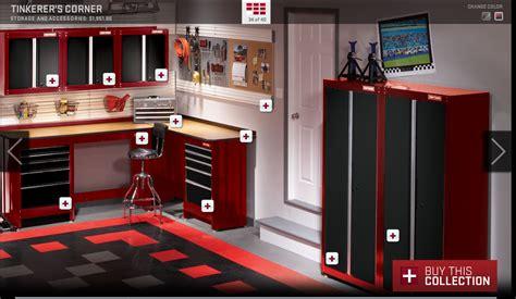 craftsman garage garage workshop garage interior