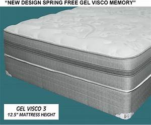 Visco Gel Topper : gel visco memory foam queen mattress set mcallen furniture ~ Eleganceandgraceweddings.com Haus und Dekorationen