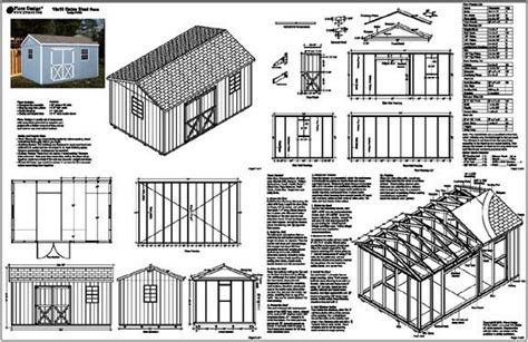 ids storage shed plans