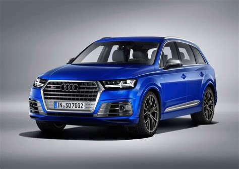 Set Fans To Electric New Audi Sq7 Tdi Packs Electric