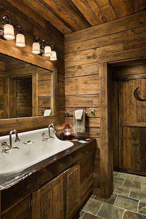 salle de bain rustique rustic bathrooms