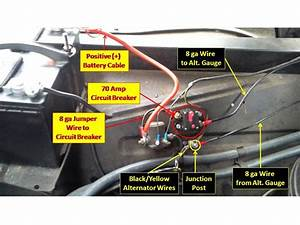 Finished - 1965 F-100 Alternator Gauge Wiring