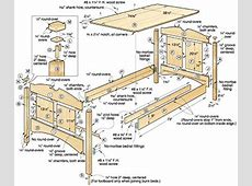 Bed Woodworking Plans Fundamental Children Crafts – Wood