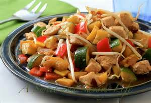 Easy Stir Fry Chicken and Vegetables