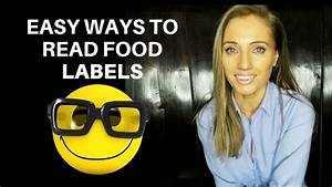 Easy ways on how to read food labels to make healthy for Easiest way to print labels