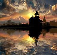 Beautiful Church Sunset