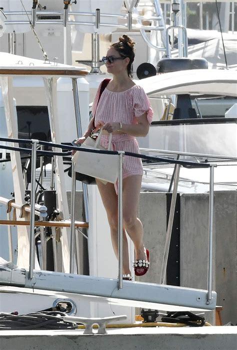 katie holmes  bikini   yacht  miami
