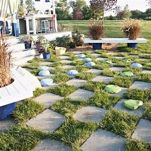 Betonplatten Verlegen Auf Erde : 12 frische einrichtungtipps f r die garten lounge und outdoor k che ~ Whattoseeinmadrid.com Haus und Dekorationen