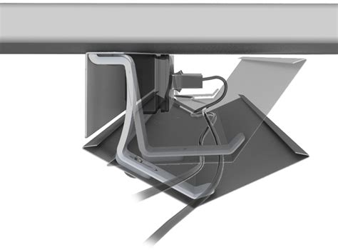 under desk cable tray under desk cable management cradle tray buy online box15