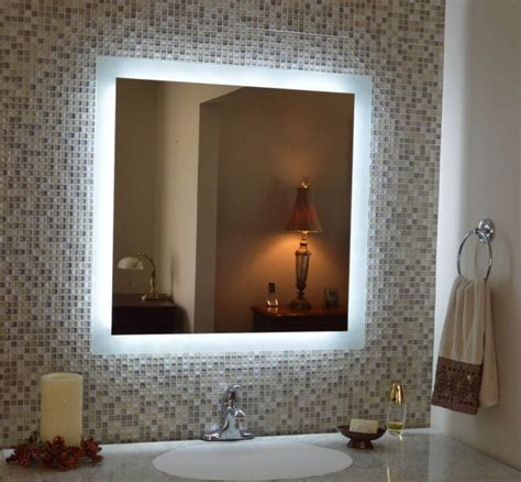 Lighted Mirror Bathroom by Diy Vanity Mirror With Lights For Bathroom And Makeup Station