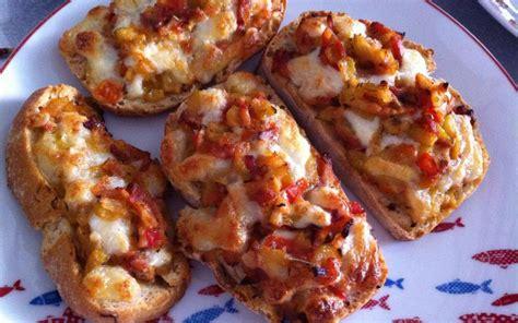 Recette Tartine tomate-courgette pas chère et simple ...