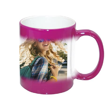 Monsters fathers day coffee mug. Magic Purple Red Color Sublimation Changing Coffee Mugs 11oz - Smart Buy