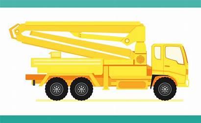 Truck Concrete Pump Heavy Construction Gru Autocarro