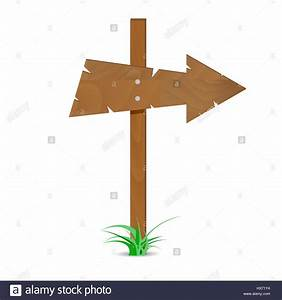 Wooden Arrow Sign  Road Guide Arrow  Direction Wooden