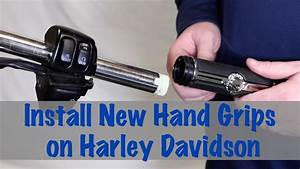 Install New Hand Grips On Harley Davidson