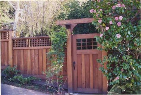images  craftsman style fence design ideas