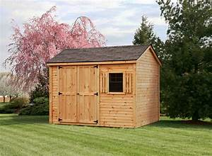 8x10 pine clapboard gable style shed capitol sheds With 8x10 barn shed