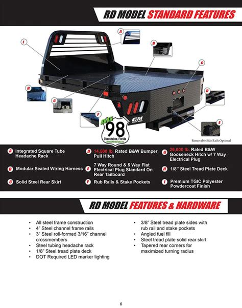 cm truck bed  model ford  sw lwb