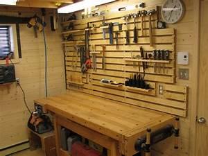 Rangement Outils Garage : systeme de rangement mural pour atelier organisation parement mural rangement mural et ~ Melissatoandfro.com Idées de Décoration
