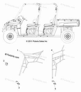 Polaris Side By Side 2013 Oem Parts Diagram For Body  Side