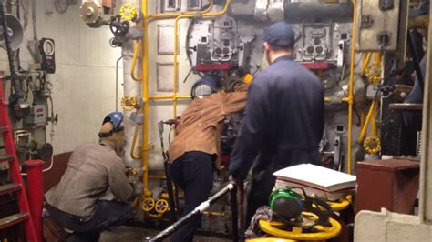 Lighting The Boiler On Uss Bataan (lhd-5)