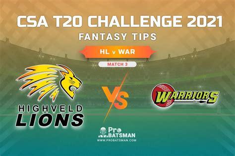 HL Vs WAR Dream11 Prediction, Fantasy Cricket Tips ...