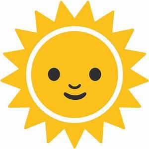 File:Emoji u1f31e.svg - Wikimedia Commons