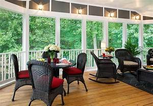 Screened Porch - Lovely Addition to Your Home