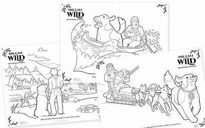 Coloring Wild Call Printable Sheets Activity Board