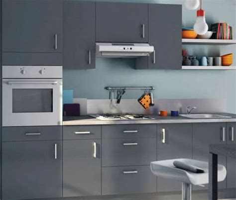 cuisine relookee grise dynamiser une cuisine grise astuces et conseils déco