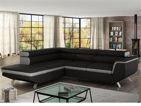 vente unique canapé d angle canapé d 39 angle droit convertible vilamo canapé vente