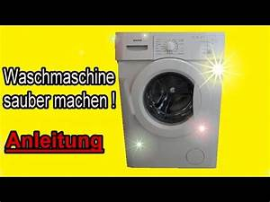 Waschmaschine Richtig Reinigen : waschmaschine komplett reinigen waschmaschine richtig sauber machen anleitung youtube ~ Markanthonyermac.com Haus und Dekorationen