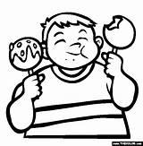 Coloring Gotowanie Candy Apple Kolorowanki Jedzenie Sweets Dzieci Dla Kolorowanka Drukuj Druku sketch template