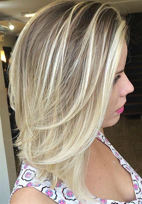 brightest medium length layered haircuts  hairstyles