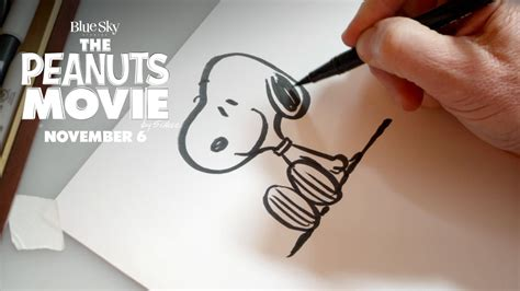 peanuts    draw snoopy hd fox family