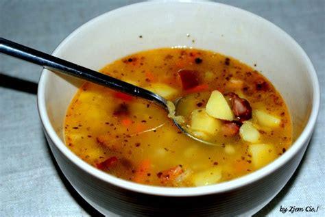 Błyskawiczna zupa grochowa z soczewicy