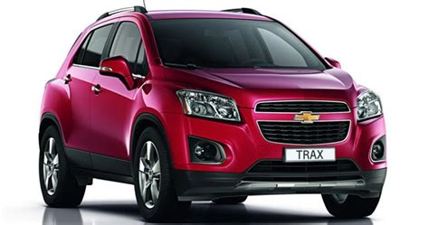 chevrolet trax small suv pictured  detailed