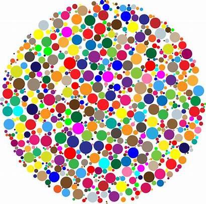 Circle Colorful Fractal Clipart Dot International Svg