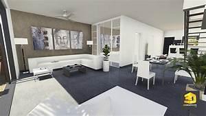 Creation Maison 3d : perspectiviste 3d r sidence le rocher vert 3dgraphiste fr ~ Premium-room.com Idées de Décoration