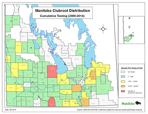 Clubroot Distribution Manitoba Agriculture